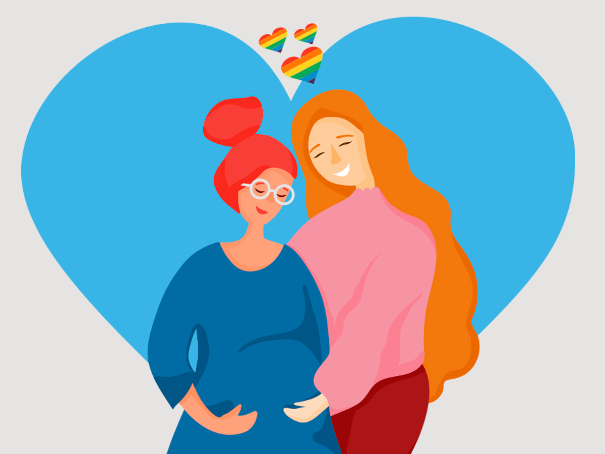 Assisted reproduction techniques for the LGBT collective
