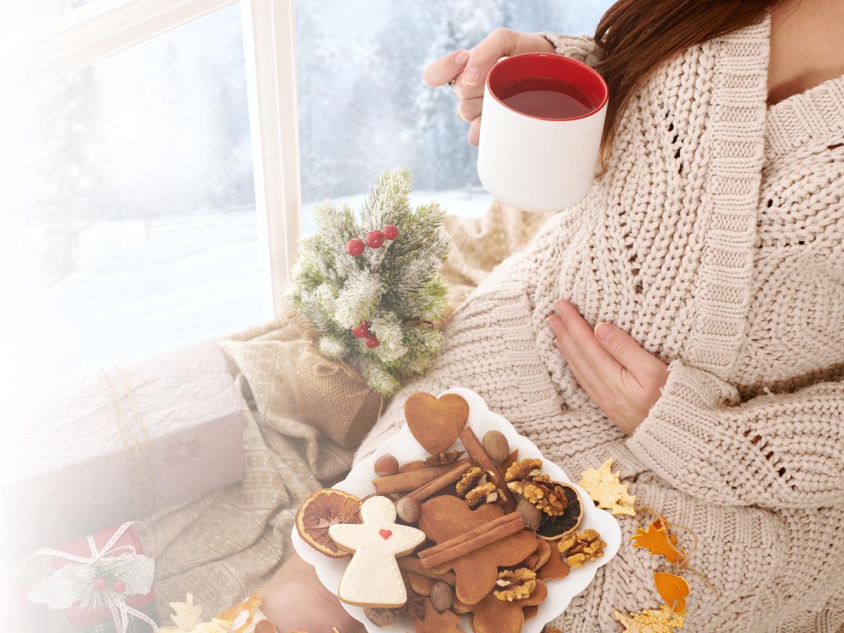 ¿Debo vigilar mi alimentación estas navidades si estoy embarazada?